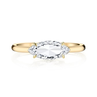 Marquis Cut Diamond Ring