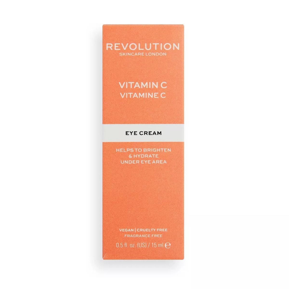 Makeup Revolution Skincare Vitamin C Eye Cream