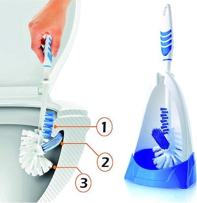 Rigorous Team Toilet Brush and Holder