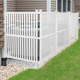 VINGLI Outdoor Picket Fence (2-Pack)