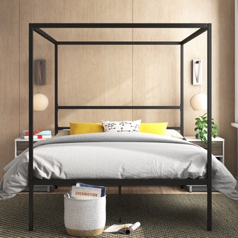 Inez Queen Canopy Bed
