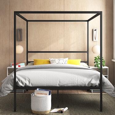 Inez Queen Canopy Bed