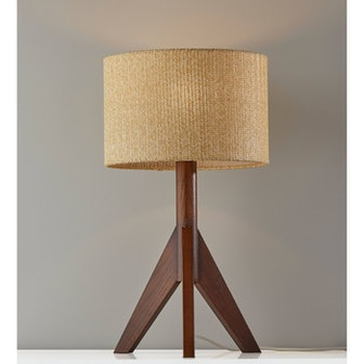 Eden Table Lamp Walnut