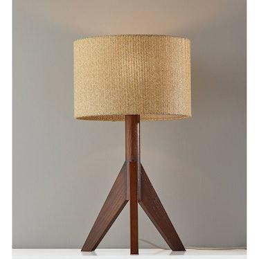 Eden Table Lamp Walnut
