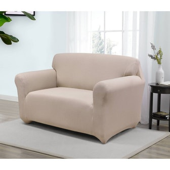 Santa Barbara Loveseat Slipcover Cream