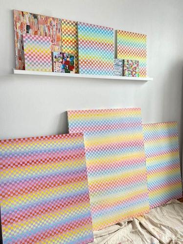 """16x20"""" Acrylic Paint On Canvas"""