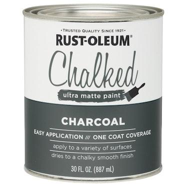 Charcoal Rust-Oleum Chalked Ultra Matte Paint, 30 oz.