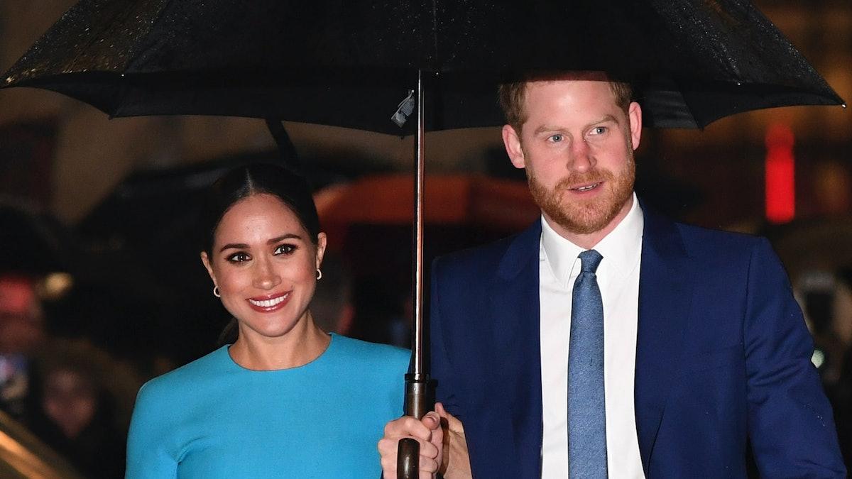 Megan Markle and Prince Harry.