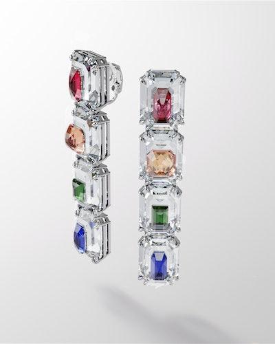 Image of Chroma Earrings From Swarovski.
