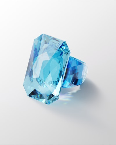 Image of Lucent Ring From Swarovski.