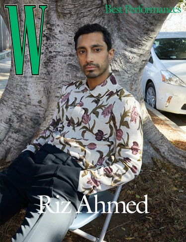 Ahmed wears a Dior Men's shirt and pants.