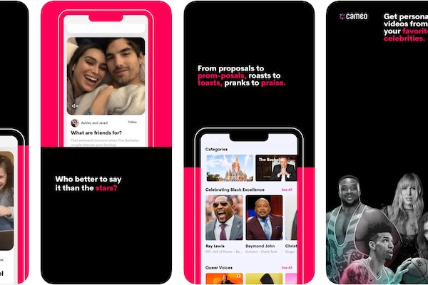 Cameo lets you request personalized videos from your favorite celebrity.