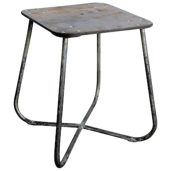 1960s Polish Military Industrial Side Table