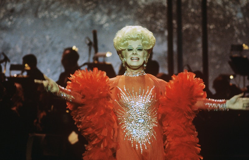 Danny La Rue was on the UK first drag queens.