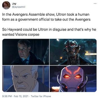WandaVision Ultron theory