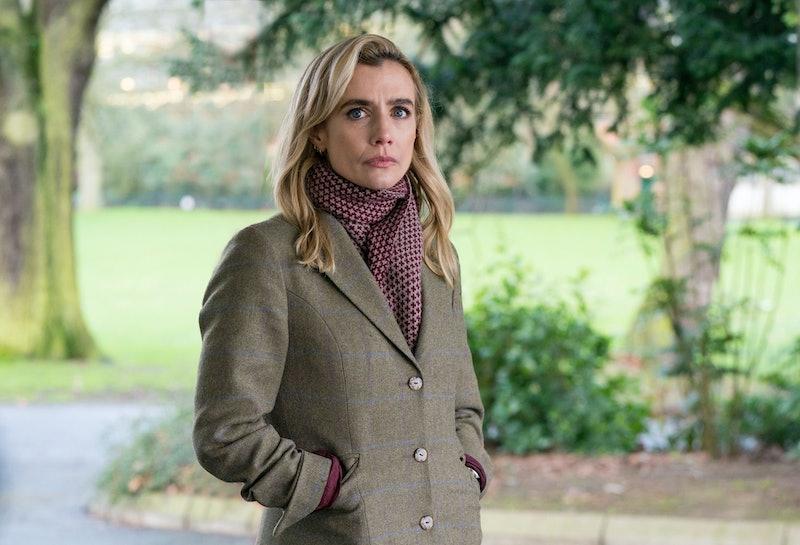 lisa dwan as tori matthews in bbc one's bloodlands