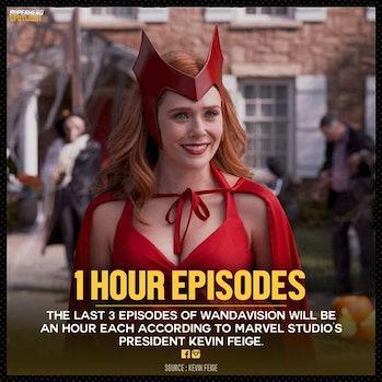 wandavision hour long episodes