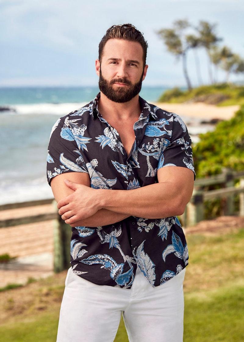 Blake Eyres on 'Temptation Island' via USA Network press site.