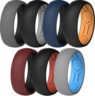 ThunderFit Breathable Silicone Rings (7-Pack)