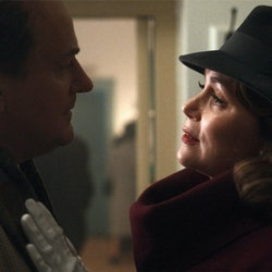 'To Olivia' Starts Hugh Bonneville and Keeley Hawes as Roald Dahl and Patricia Neele.