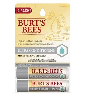 Burt's Bees Ultra Conditioning Moisturizing Lip Balm (2-Pack)