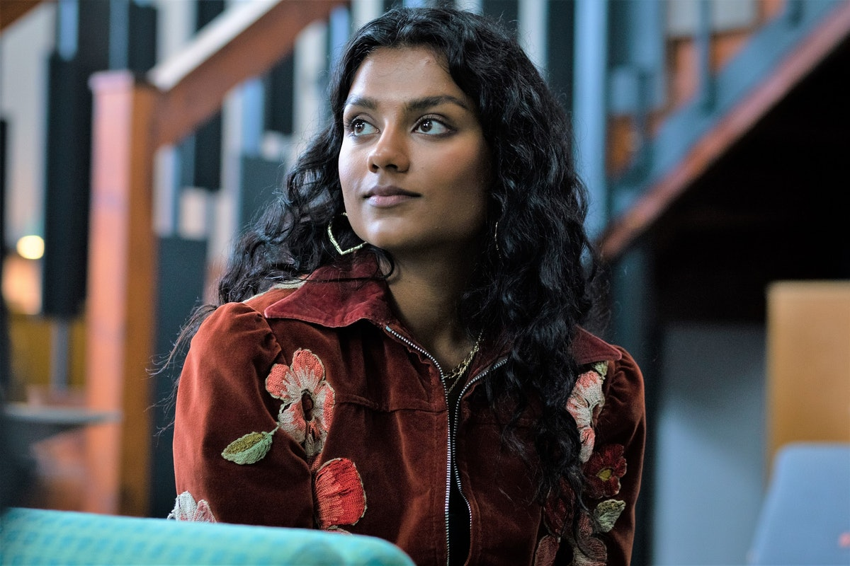 Simone Ashley as Olivia in Sex Education