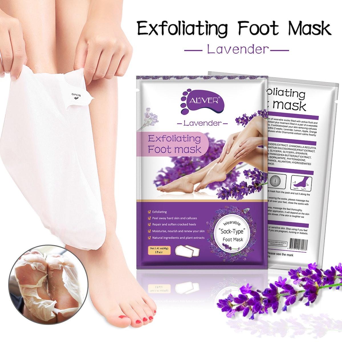 Gaobeisi-Makeups Foot Peel Masks (5 Pairs)