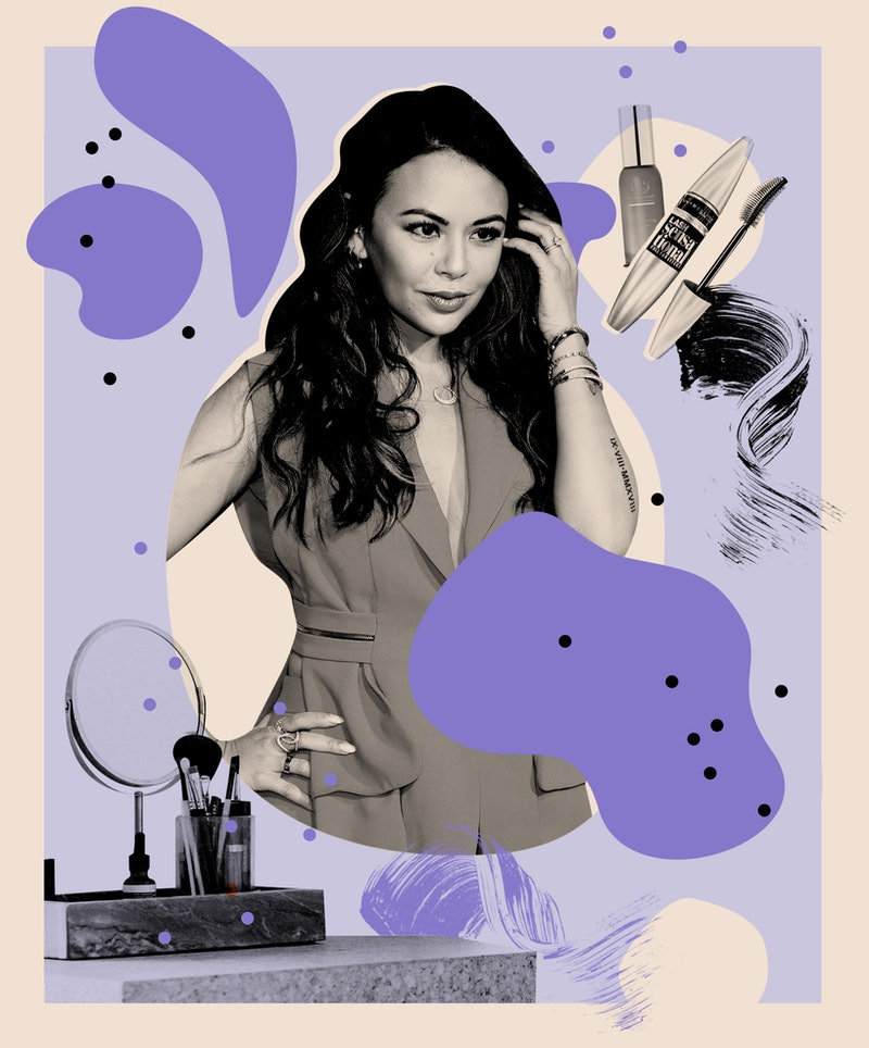 Janel Parrish shares the beauty products behind her maximalist routine.
