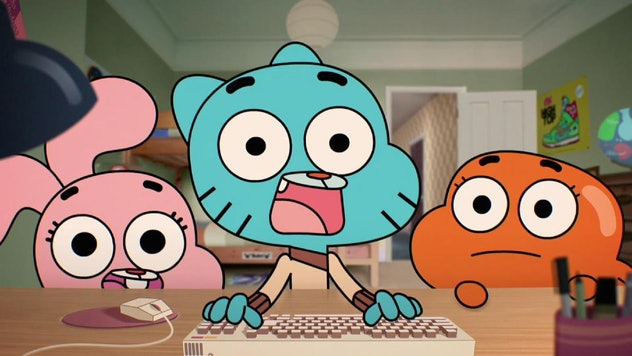 'The Amazing World Of Gumball' is an offbeat cartoon streaming on Hulu.