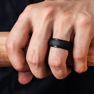 ThunderFit Step Edge Silicone Ring