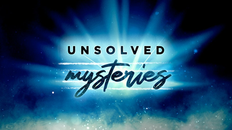 'Unsolved Mysteries' begins in podcast form Feb. 17. Photo via Cadence13