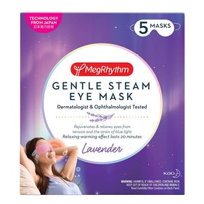 MegRhythm Gentle Steam Eye Mask (5-Pack)