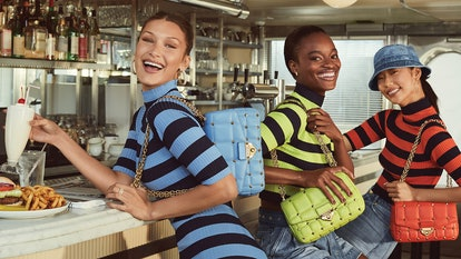 Bella Hadid, Mayowa Nicholas, and Heejung Park appear in MICHAEL MICHAEL Kors Spring/Summer 2021 campaign.