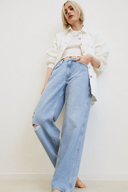 Lee x H&M Slouch Straight High Jeans
