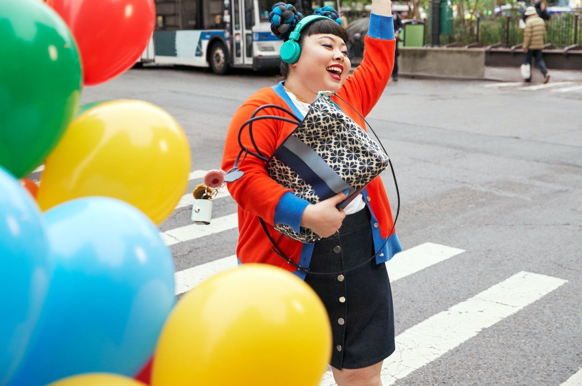 Kate Spade brand ambassador and Japanese comedian Naomi Watanabe star in the Spring/Summer 2021 camp...