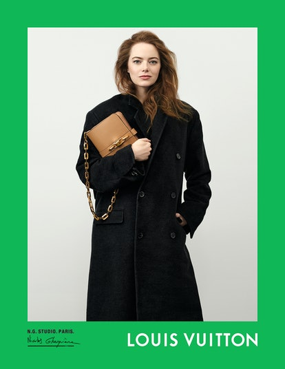 Emma Stone appears in Louis Vuitton Spring/Summer 2021 campaign.