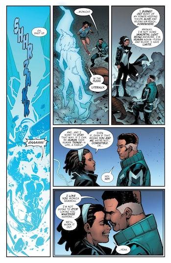 Marvel Comics Monica Rambeau Blue Marvel