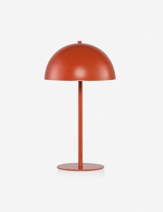 Luz Table Lamp, Terracotta