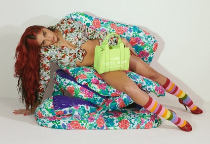 Lola Leon appears in Marc Jacobs Spring/Summer 2021 campaign.