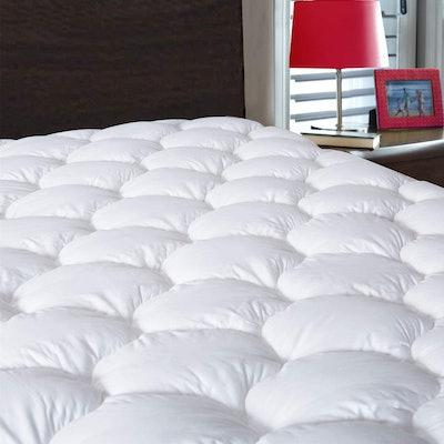 Drovan Waterproof Pillow Top Mattress Topper