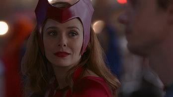 Elizabeth Olsen as Wanda Maximoff/Scarlet Witch in WandaVision Episode 6