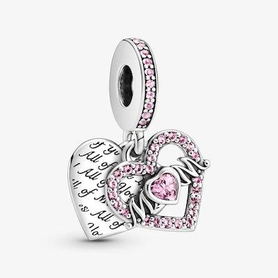 Heart & Mum Dangle Charm