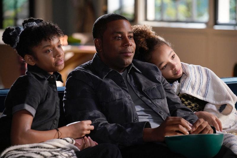 Dani Lane as Aubrey, Kenan Thompson as Kenan, Dannah Lane as Birdie in Kenan via the NBC press site