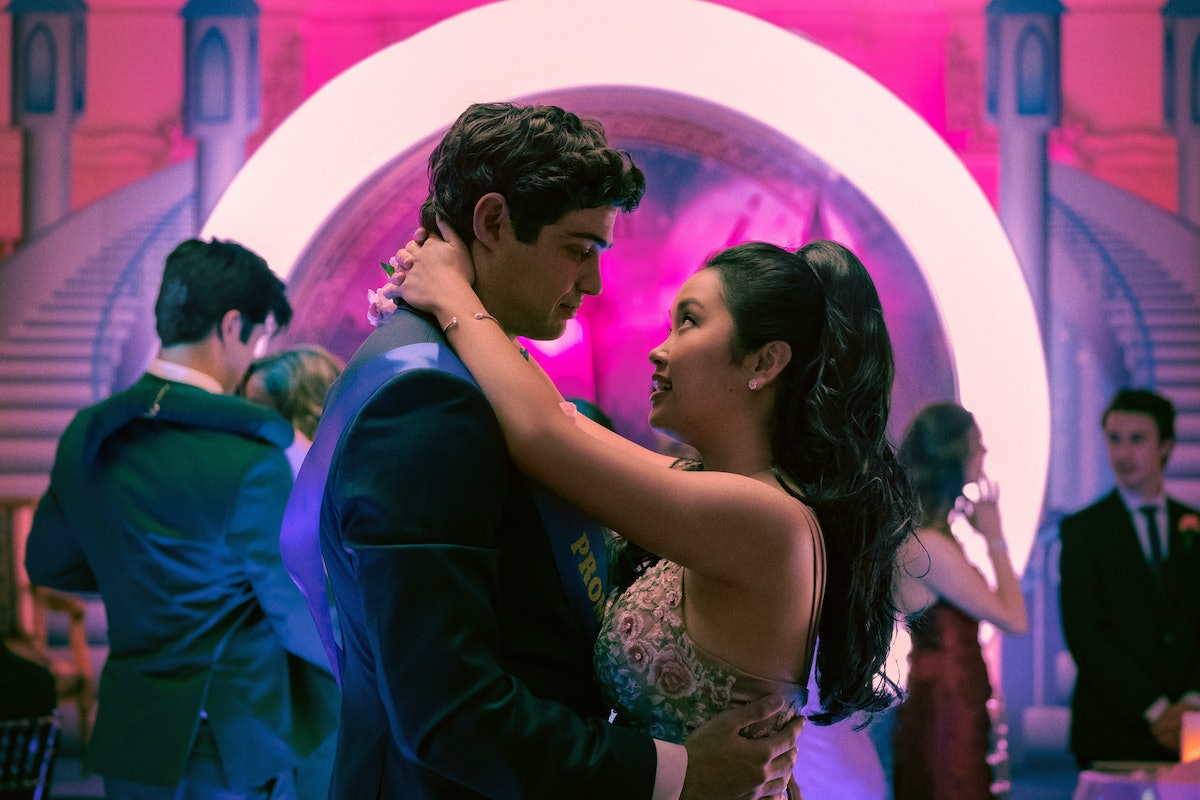 Noah Centineo as Peter and Lana Condor as Lara Jean in To All the Boys: Always and Forever.