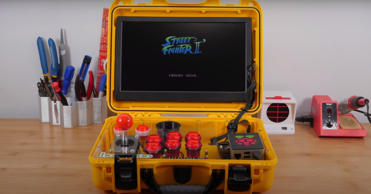 These homemade game consoles are DIY magic