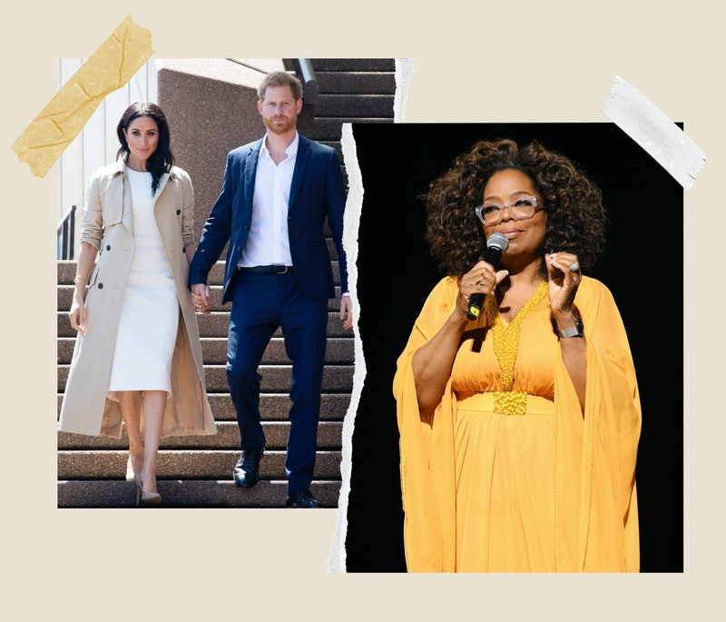 Prince Harry and Meghan Markle agree to be interviewed by Oprah Winfrey