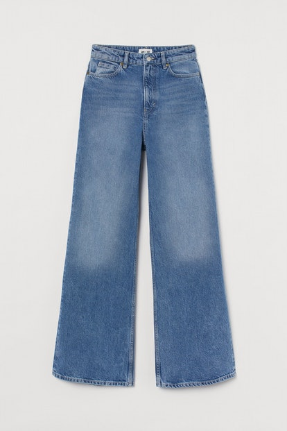 Lee x H&M Wide Ultra High Waist Jeans