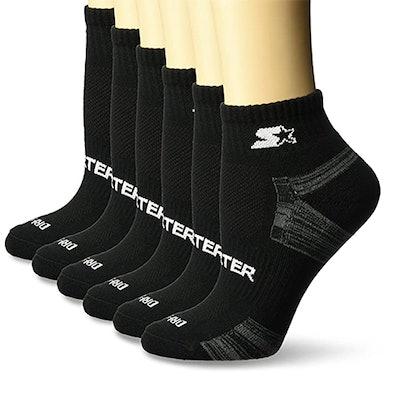 Starter Quarter-Length Athletic Socks (6 Pairs)
