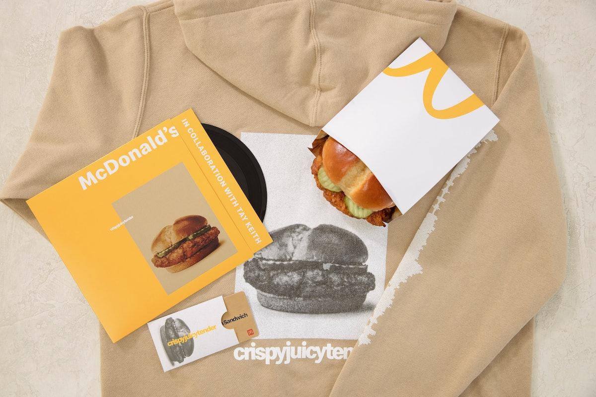 McDonald's is offering a limited drop of its Crispy Chicken Sandwich on Feb. 23.