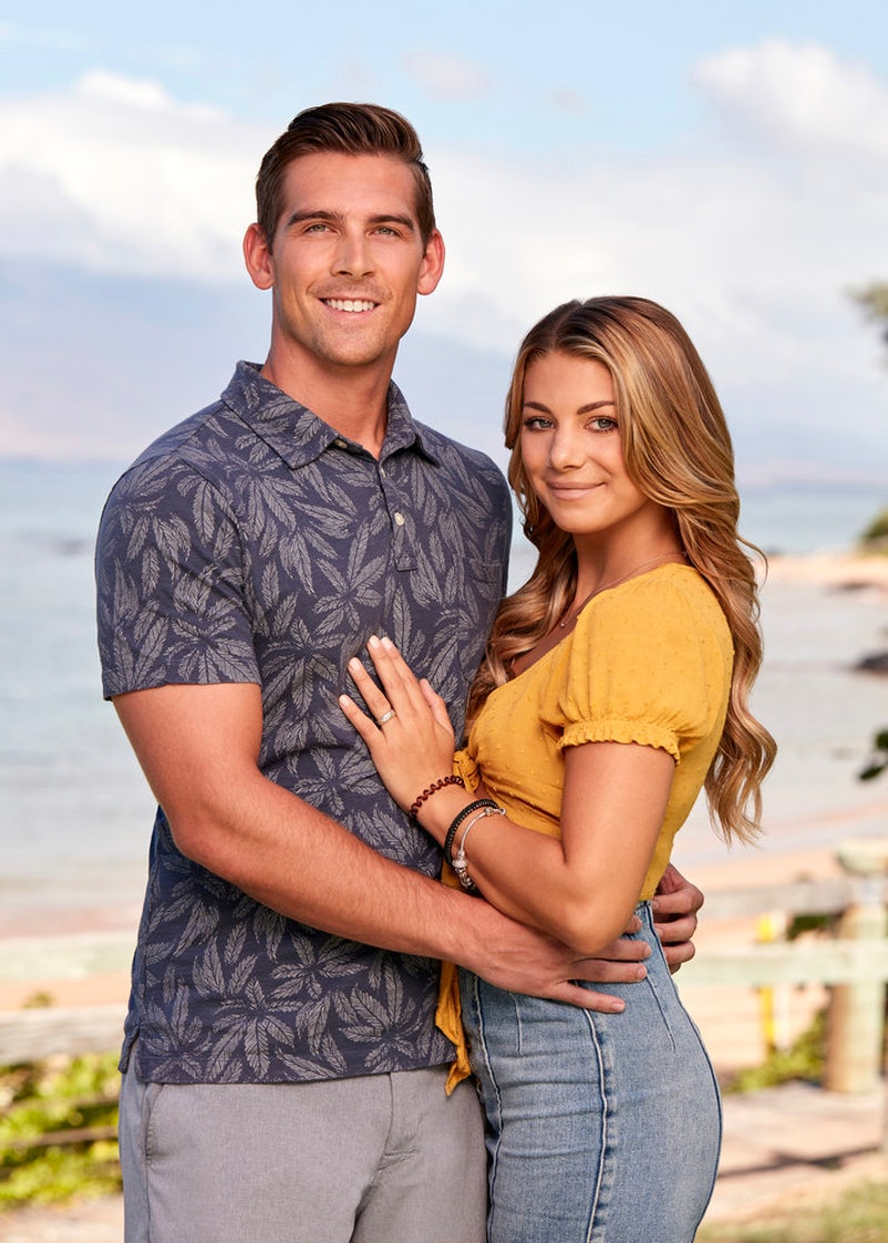 Corey Sobczyk and Erin Smith in 'Temptation Island' Season 6 via USA's press site